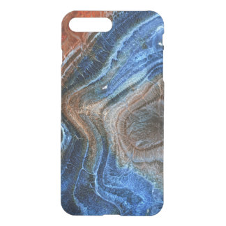 Blue & Brown Agate With Nacre iPhone 8 Plus/7 Plus Case