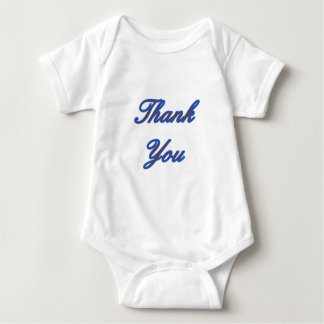 Blue Brown Thank You Design The MUSEUM Zazzle Gift Tees
