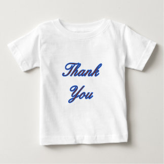 Blue Brown Thank You Design The MUSEUM Zazzle Gift Tshirt
