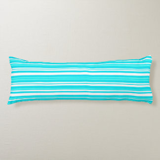 """blue - Brushed Polyester Body Pillow (20"""" x 54"""")"""