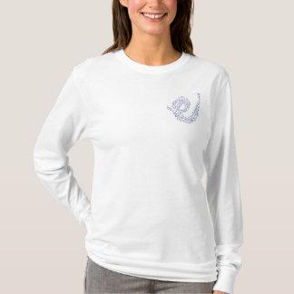 Blue Bubbles long sleeve T-Shirt