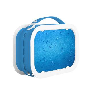 Blue Bubbles Lunch Box