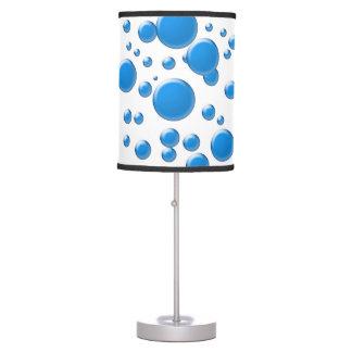 blue bubbles table lamp
