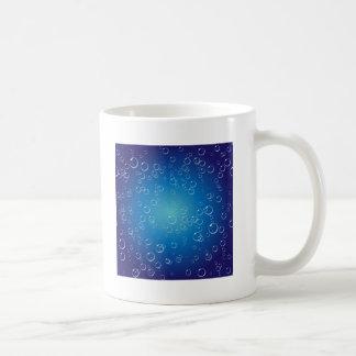 Blue Bubbles Under Water Coffee Mug