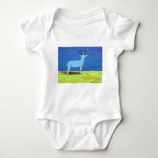 Blue Buck Baby Bodysuit