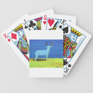 Blue Buck Bicycle Playing Cards