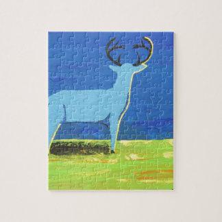 Blue Buck Jigsaw Puzzle