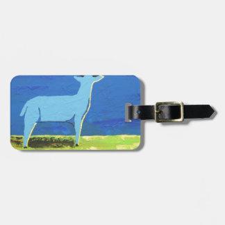 Blue Buck Luggage Tag