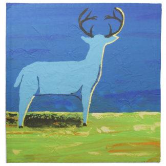 Blue Buck Napkin