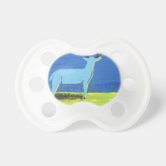 Blue Buck Pacifier