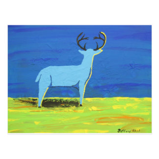 Blue Buck Postcard