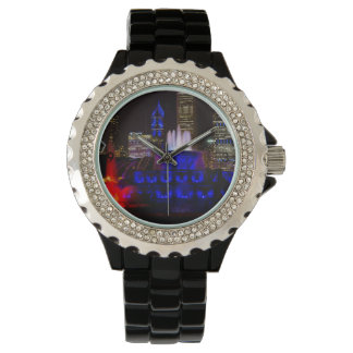 Blue Buckingham Fountain Watch