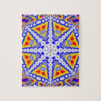 Blue Buddha Jigsaw Puzzle