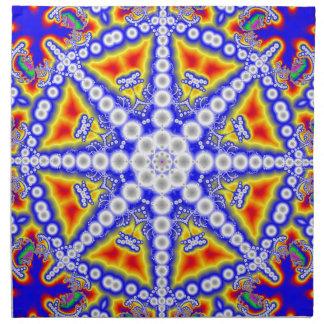 Blue Buddha Napkin