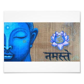 Blue Buddha Print