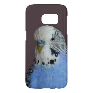 Blue Budgie Bird Parrot Samsung Galaxy S7 Case