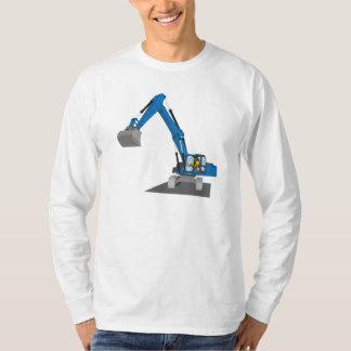 blue building sites truck T-Shirt