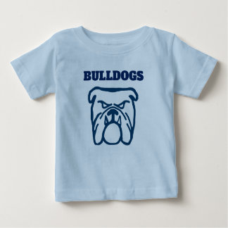 Blue Bulldog Baby T-Shirt
