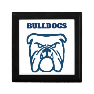 Blue Bulldog Gift Box
