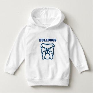 Blue Bulldog Hoodie