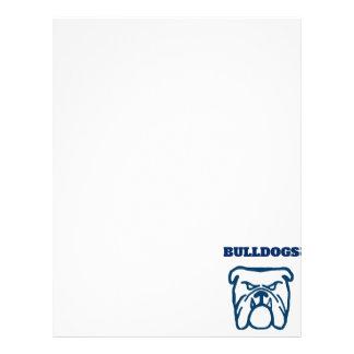 Blue Bulldog Letterhead