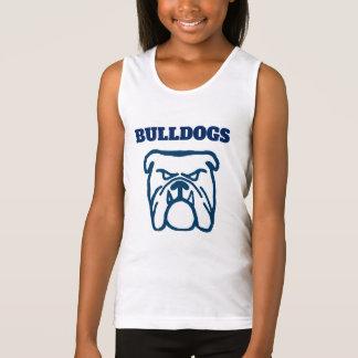 Blue Bulldog Tank Top