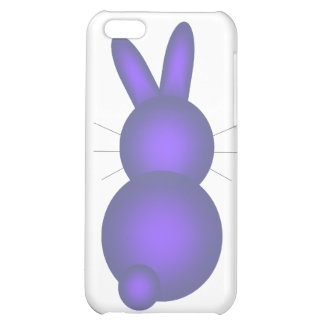 Blue Bunny Back iPhone 5C Covers