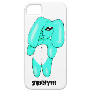 Blue Bunny Jack iPhone 5 Covers