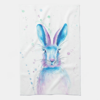 Blue Bunny Kitchen Towel