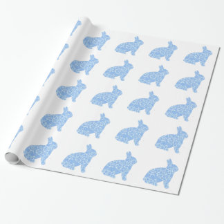 Blue Bunny Wrapping Paper