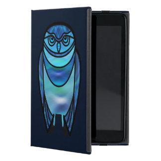 Blue Burrowing Owl iPad Mini Cover