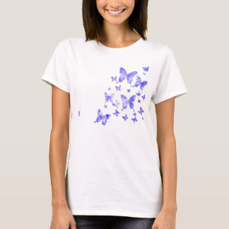 Blue Butterflies (Distressed) T-Shirt