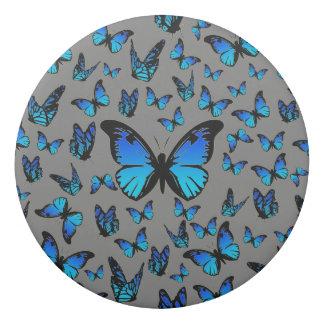 blue butterflies - eraser