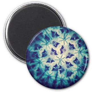 Blue Butterflies Kaleidoscopic Refrigerator Magnets