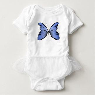Blue Butterfly 2 Azure Huntsman Baby Bodysuit