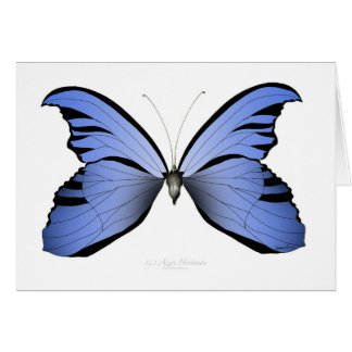 Blue Butterfly 2 Azure Huntsman Card
