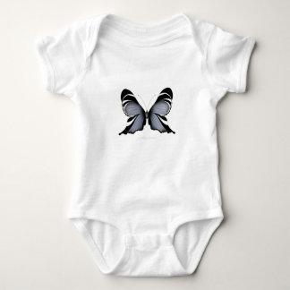 Blue Butterfly 3 Sulawesi Woodtree Baby Bodysuit