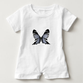 Blue Butterfly 3 Sulawesi Woodtree Baby Romper