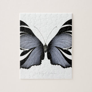 Blue Butterfly 3 Sulawesi Woodtree Jigsaw Puzzle
