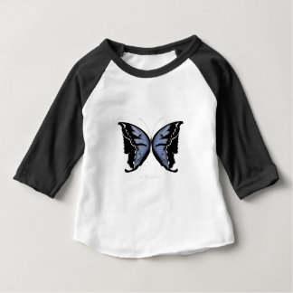 Blue Butterfly 4 Blue Marsh Maid Baby T-Shirt