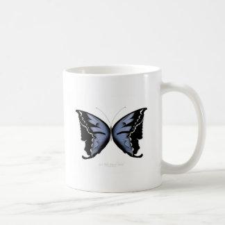 Blue Butterfly 4 Blue Marsh Maid Coffee Mug