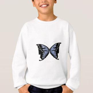 Blue Butterfly 4 Blue Marsh Maid Sweatshirt