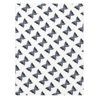 Blue Butterfly 4 Blue Marsh Maid Tablecloth