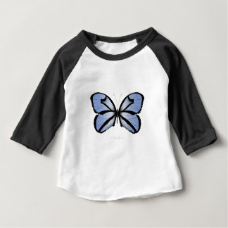 Blue Butterfly 5 Giant Blue Vane Baby T-Shirt