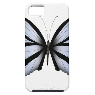 Blue Butterfly 5 Giant Blue Vane Case For The iPhone 5
