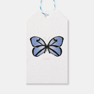 Blue Butterfly 5 Giant Blue Vane Gift Tags