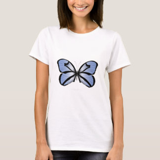 Blue Butterfly 5 Giant Blue Vane T-Shirt