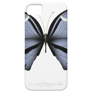 Blue Butterfly 6 Small Diamond Blue iPhone 5 Case