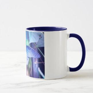 Blue Butterfly Coffee Mug