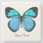 Blue Butterfly Custom Stone Coaster